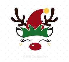 SVG Cut Files for Cricut and Silhouette. High quality cutting files for scrapbooking card making paper crafts invitations photo cards vinyl decals and more. Christmas Vinyl, Christmas Rock, Christmas Design, Christmas Shirts, Christmas Projects, Christmas Unicorn, Merry Christmas, Cricut, Elf Hut