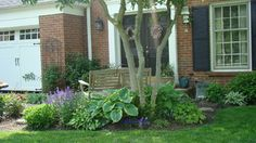 Garden - traditional - Entry - Boise - S Connors