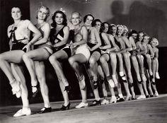 Девушки из ревю. Германия. 1930