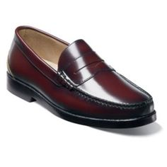 Nunn Bush Baker Wide Penny Loafers - Men.  Get Free Shipping on Orders Over $75 at NunnBush.
