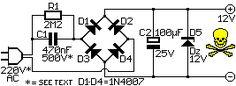 12V PSU without transformer