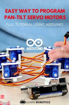 Full guide to program Pan-Tilt servos using Arduino