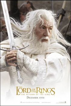 The Lord of the Rings  The Fellowship of the Ring   Movie Promo     Lord of the Rings poster Gandalf
