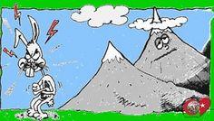 Tavşan dağa küsmüş, dağın haberi olmamış - Bazı insanlar çok alıngan olurlar ve kızdıkları konuda çevrelerine bir şey söylemeyerek kendilerini üzerler.