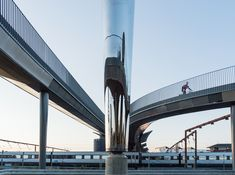 Gallery of Byens Bro Foot and Cycle Bridge / Gottlieb Paludan Architects - 5