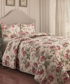 Love this May Medley Waverly Quilt Set on #zulily! #zulilyfinds....another me!!!