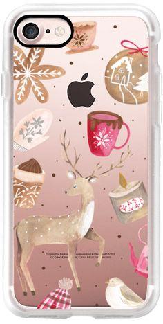 Casetify iPhone 7 Classic Grip Case - Cozy Winter by Bianca Pozzi #Casetify