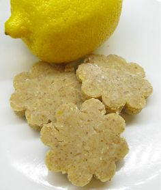 raw vegan lemon cookies