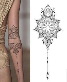 Boho Tattoos, Modern Tattoos, Dainty Tattoos, Small Tattoos, Back Tattoo Women, Arm Tattoos For Women, Cute Little Tattoos, Cute Tattoos, Snow Flake Tattoo