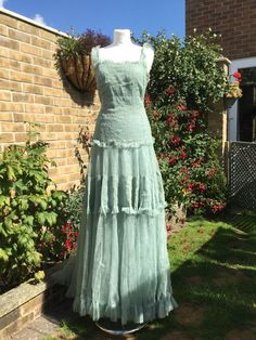 Norman Hartnell 1930s haute couture ballgown vintage