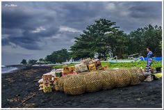 Early Morning at Kusamba Village, Bali