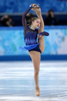 DAY 13:  Yulia Lipnitskaya of Russia competes during the Figure Skating Ladies' Short Program http://sports.yahoo.com/olympics