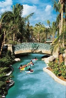 Relax on the Lazy River at Atlantis Resort in the Bahamas: http://www.atlantis.com/thingstodo/waterpark.aspx