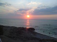 Sunset in Kyparissia, Peloponnese