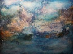 Abstract Acrylic Painting  A Semblance Of Home by mmedley on Etsy, $225.00