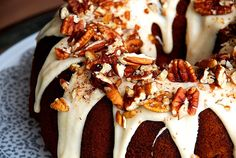 From SugarMama: Easy Pumpkin Bundt Cake with Browned Butter Drizzle Pumpkin Recipes, Fall Recipes, Real Food Recipes, Nutella, Pumpkin Bundt Cake, Pudding Cake, Brown Butter, Cupcake Cakes, Bundt Cakes