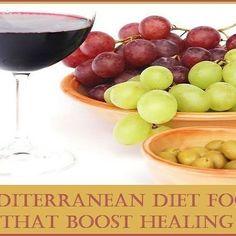 Reposting @advancedhealthmart: Mediterranean Diet Foods That Boost Healing http://crwd.fr/2sQjsFC #nutrition #health #diet #foodie #FoodAsMedicine #healthyeating