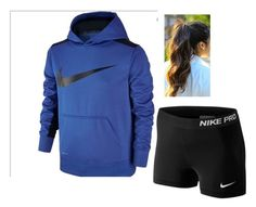 """""""In his hoodie"""" by abbiskate ❤ liked on Polyvore featuring NIKE"""