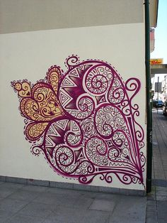 Coração de Viana on Wall Portuguese Tattoo, Zentangle, Wine And Canvas, Beauty In Art, Amazing Drawings, All Craft, Paper Quilling, Skin Art, Art Activities
