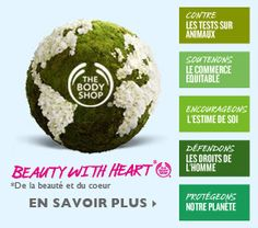 The Body Shop | Natural Beauty Products inspired by Nature and Ethically made
