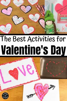 These Valentine's Day activities are a perfect way to celebrate Valetnine's Day with kids and include activities, arts, crafts and kindness activities Toddler Valentine Crafts, Valentines Day Activities, Valentines For Kids, Toddler Crafts, Kindness Projects, Kindness Activities, Craft Activities, Activity Ideas, Valentine's Day Crafts For Kids