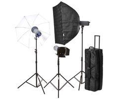 The ultimate studio 3 X 500 W light setup. Studio Setup, Studio Lighting, Photo Equipment, Photography Equipment