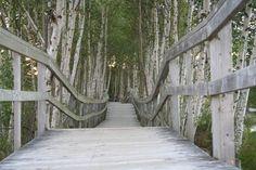 Boardwalk in Sackville New Brunswick, Canada