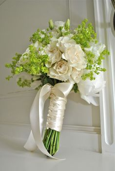 One that matches my wedding colors... Maybe I'd use pink ribbon though