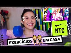(1) EXERCÍCIOS #EMCASA! Como estou fazendo | Lu Ferreira | Chata de Galocha - YouTube Just Dance, 1, Youtube, At Home Workouts, Ideas, Youtubers, Youtube Movies