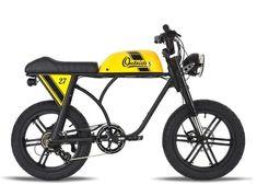 Nouveau Métal Noir Vélo Avant Lumière avec Vizor vintage CRUISER Bullet Bike Light