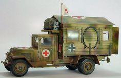 Zis 5 captured - Krankenwagen