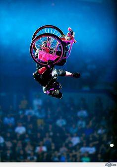 Aaron Fotheringham Wheelchair Backflip