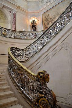 Château de Chantilly - Musée Condé - Escalier d'honneur