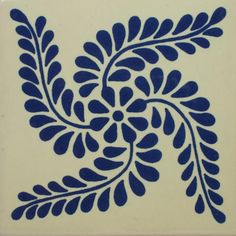 Especial ceramic Mexican decorative tile