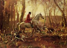 Alfred J Munnings - Alfred Munnings - Golden Morn - Fox Hunting Fox Hunt 1920 Painting Hunting Art, Fox Hunting, Horse Artwork, Horse Paintings, Pastel Paintings, Alfred Munnings, Equestrian Decor, The Fox And The Hound, Equine Art