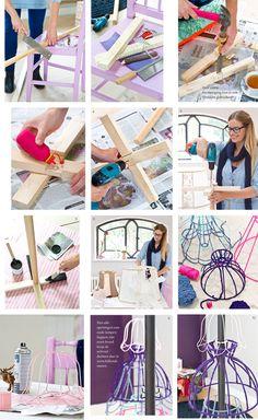 Boom voor kaarten  Kijk op www.101woonideeen.nl #tutorial #howto #diy #101woonideeen #boom #kaarten
