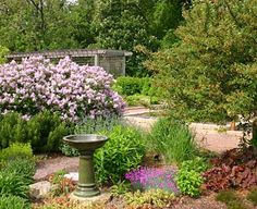 Enjoy the large variety of annuals, perennials, herbs and vegetables at the Idea Garden.