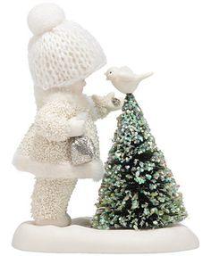 Department 56 Snowbabies Dream Bird Feeder Collectible Figurine