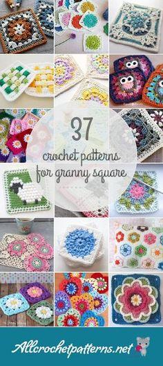 37 Granny Square Crochet Patterns - Page 3
