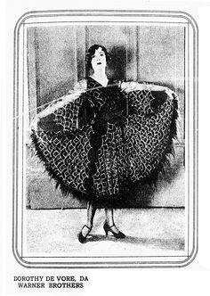 DOROTHY DEVORE - (CINEARTE, April 7, 1926, Rio de Janeiro, Brazil)