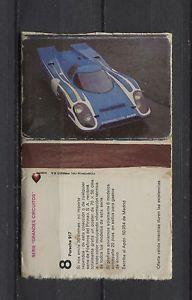 Porsche 917 Fosforos Del Pirineo Matchbox label/Streichholzheftchen | eBay