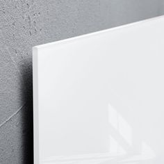 Tableau magnétique en verre 'artverum®' super blanc, 100 x 65 cm