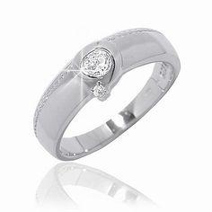 Dámský prsten Silvego z chirurgické oceli R0985 velikost 62