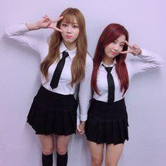 CLC   Seungyeon (승연), Eunbin (은빈)