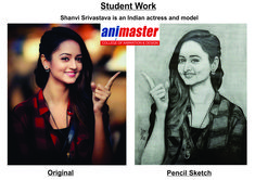 STUDENT WORK - PENCIL SKETCH    Shanvi Srivastava is an Indian actress and model who appears in Kannada and Telugu films   #shanvisrivastava #shanvi #shanvisri #telugucinema #tamilcinema #animation #sketch #sketchbook #bestanimationcollege #wednesdaywisdom #masterchefbr #animaster #Animastercollege #bangaloreuniversity #BU