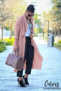 I have this exact jacket! Good to see how I can style it. Thanks Shea! Casual Wear, Casual Outfits, Cute Outfits, Office Outfits, Work Outfits, Black Girl Fashion, Womens Fashion, Work Fashion, Skirt Fashion
