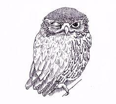 'Owl' by Yvonne Keesman