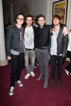 McFly - Tom Fletcher, Harry Judd, Danny Jones and Dougie Poynter