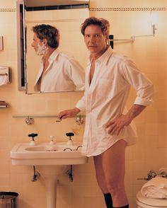 Harrison Ford for Vanity Fair Magazine, 1993 ~ Photo by Annie Leibovitz