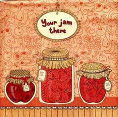 """Салфетка для декупажа """"Джем"""" 33х33см Бумажная салфетка для работы в технике декупажа. Для декорированияпредметов мебели, посуды, шкатулок, панелей телефонов и ноутбуков. Размер:33 х 33 см"""